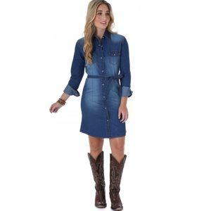 Wrangler Denim Shirt Dress
